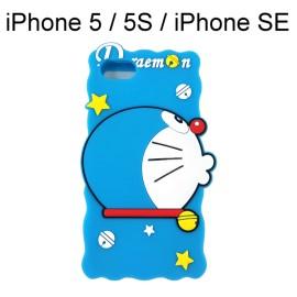哆啦A夢皮套矽膠保謢殼 iPhone 5 / iPhone 5S / iPhone SE [嘟嘴] 小叮噹【正版授權】