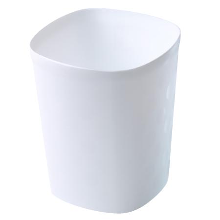 垃圾桶 15L 大都會 白 TRNT017-W