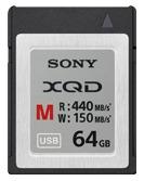 SONY 64GB XQD R440M/s QD-M64 相機專用高速記憶卡 (原廠公司貨五年保固)