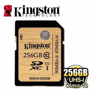 *╯新風尚潮流╭*金士頓記憶卡 256G 256GB SDXC C10 UHS-I U1 SDA10/256GB