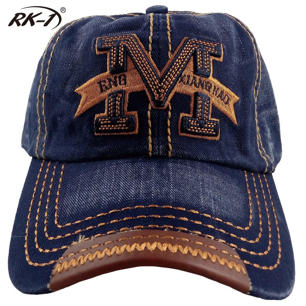 小玩子 RK-1 牛仔藍 帽子 鴨舌帽 休閒 好看 經典 時尚 刷白