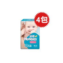 【悅兒樂婦幼用品?】HUGGIES 金好奇 護膚乾爽pH5.5紙尿褲(M)58+4片x4包入