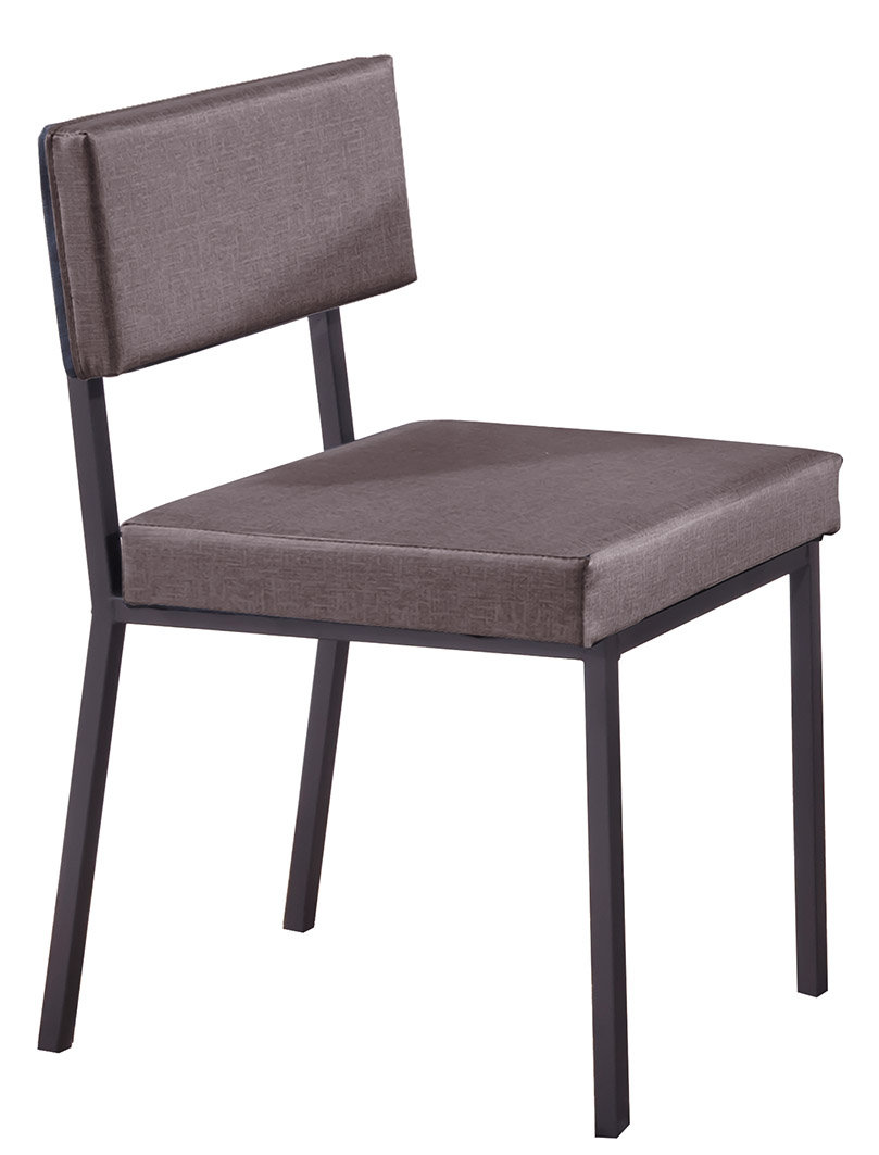 【石川家居】CE-453-16 艾德黑腳餐椅 灰皮 (不含餐桌與其他商品)