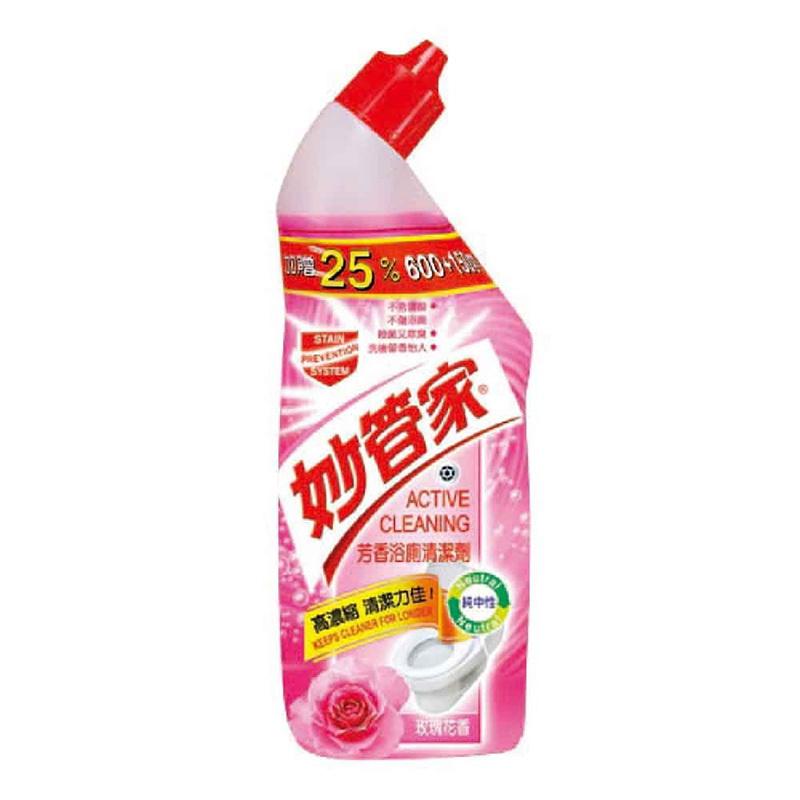 【文具通】妙管家 浴室廁所 芳香 清潔劑 香水百合 薰衣草香 玫瑰花香 三種隨機出貨 750g SP010573
