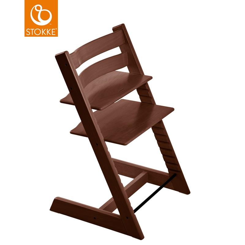 挪威【Stokke】Tripp Trapp 成長椅-胡桃木