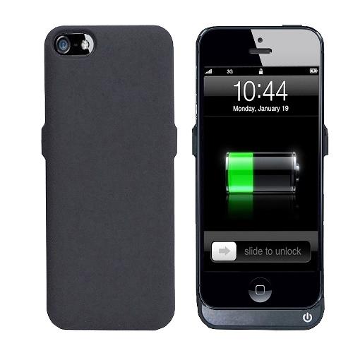 iPhone 5 / 5S 超薄背殼式行動電源 (2400mA)