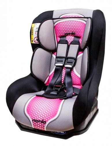 『121婦嬰用品』NANIA 納尼亞 0-4歲安全汽座-粉紅色(安全座椅)FB00292