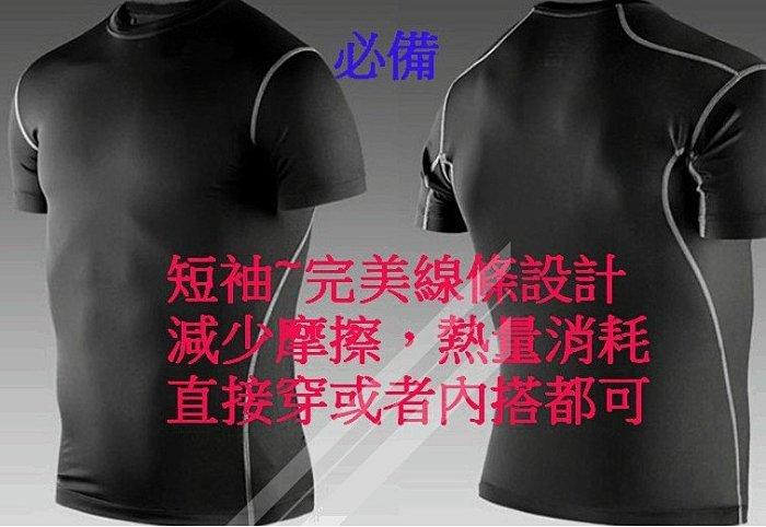㊣運動緊身衣短袖+緊身短束褲㊣ 套裝組