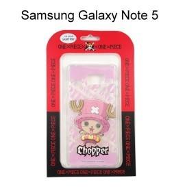 海賊王透明軟殼 [泳圈] 喬巴 Samsung N9208 Galaxy Note 5 航海王保護殼【正版授權】