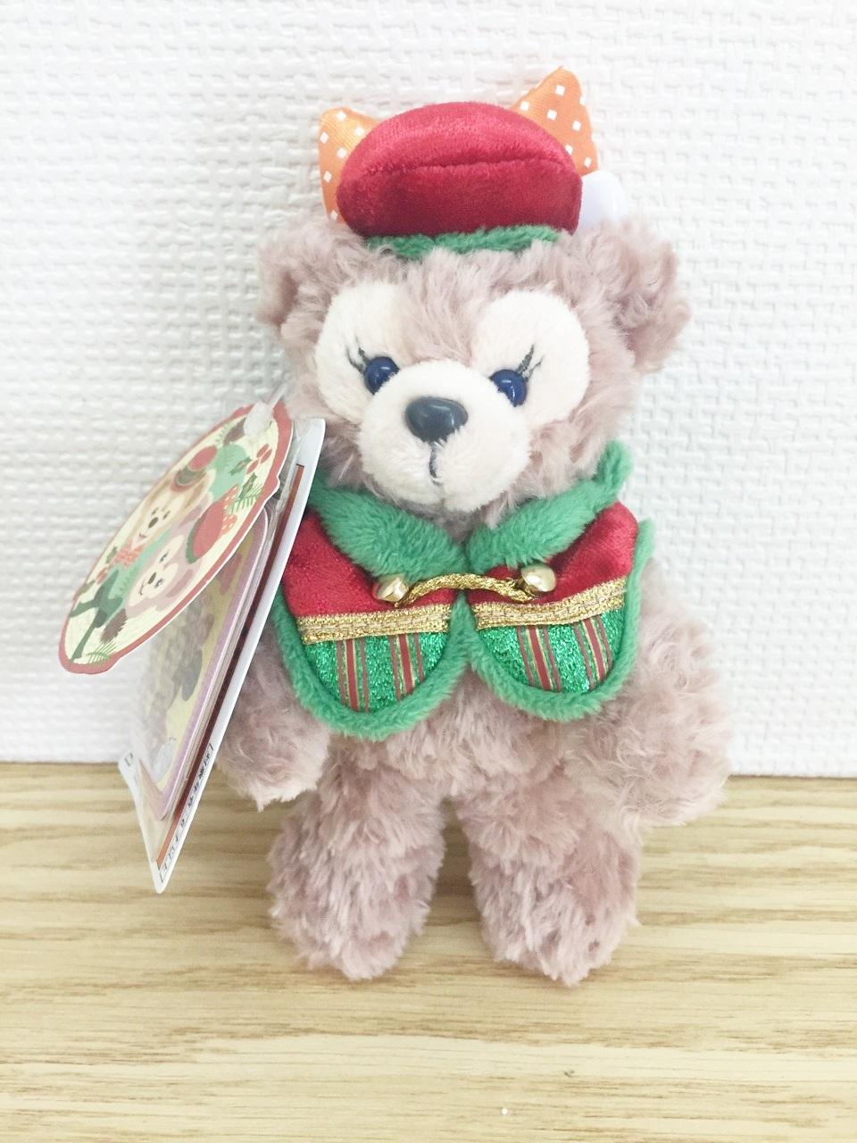 【真愛日本】15111800043 聖誕節限定特別版雪莉玫站姿別針吊飾 Duffy&ShellieMay 吊飾 鎖圈