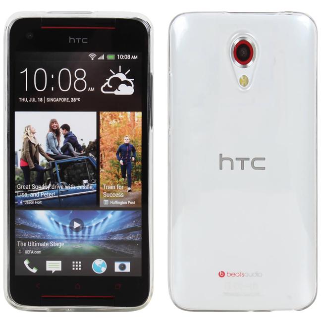 Ultimate- HTC Desire 620 dual 清新全透軟質手機外殼防摔果凍背蓋 保護套 保護殼 手機殼