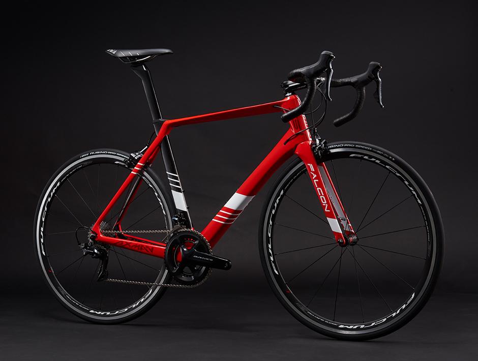 【7號公園自行車】AXMAN FALCON S5 紅黑色公路車