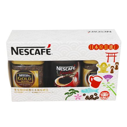[敵富朗超市]NESCAFE雀巢 金牌精緻咖啡禮盒