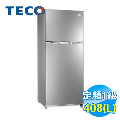 東元 TECO 408公升 雙門 定頻冰箱 R4151N