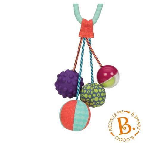 ★衛立兒生活館★美國【B.Toys】感統玩具-湯圓舞索球