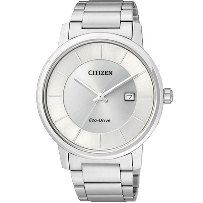 CITIZEN星辰BM6750-59A+EW1560-57A清雅靜謐三針光動能對錶/白面40+30mm
