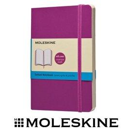 義大利 MOLESKINE 67323562 彩色點格筆記本 / 軟式 / 紫192 / P