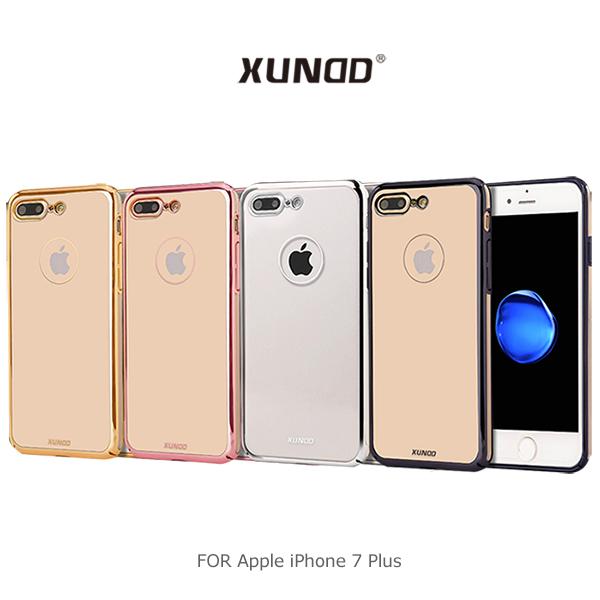 【愛瘋潮】XUNDD 訊迪 Apple iPhone 7 Plus 爵士電鍍 PC 殼 硬殼 背蓋 保護套 手機殼