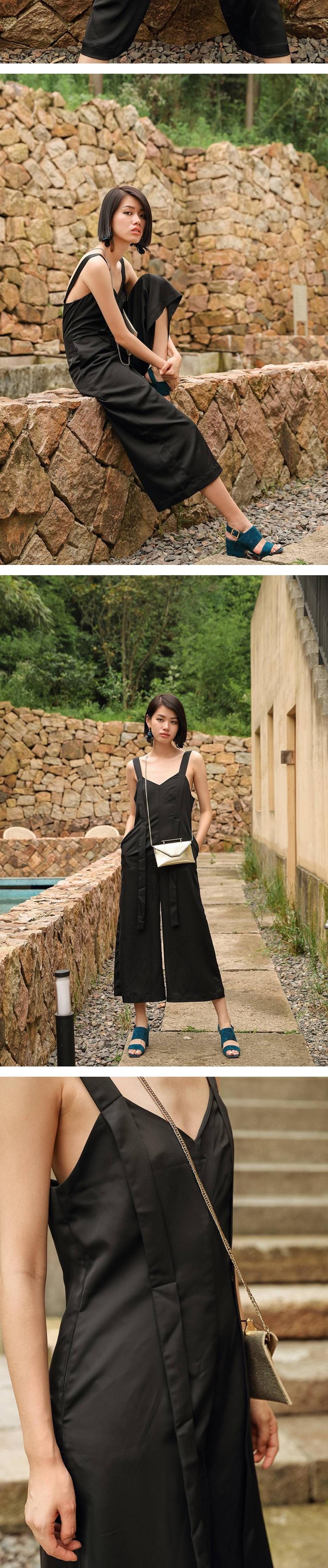 寬筒闊腿褲-韓版時尚純色百搭女長褲