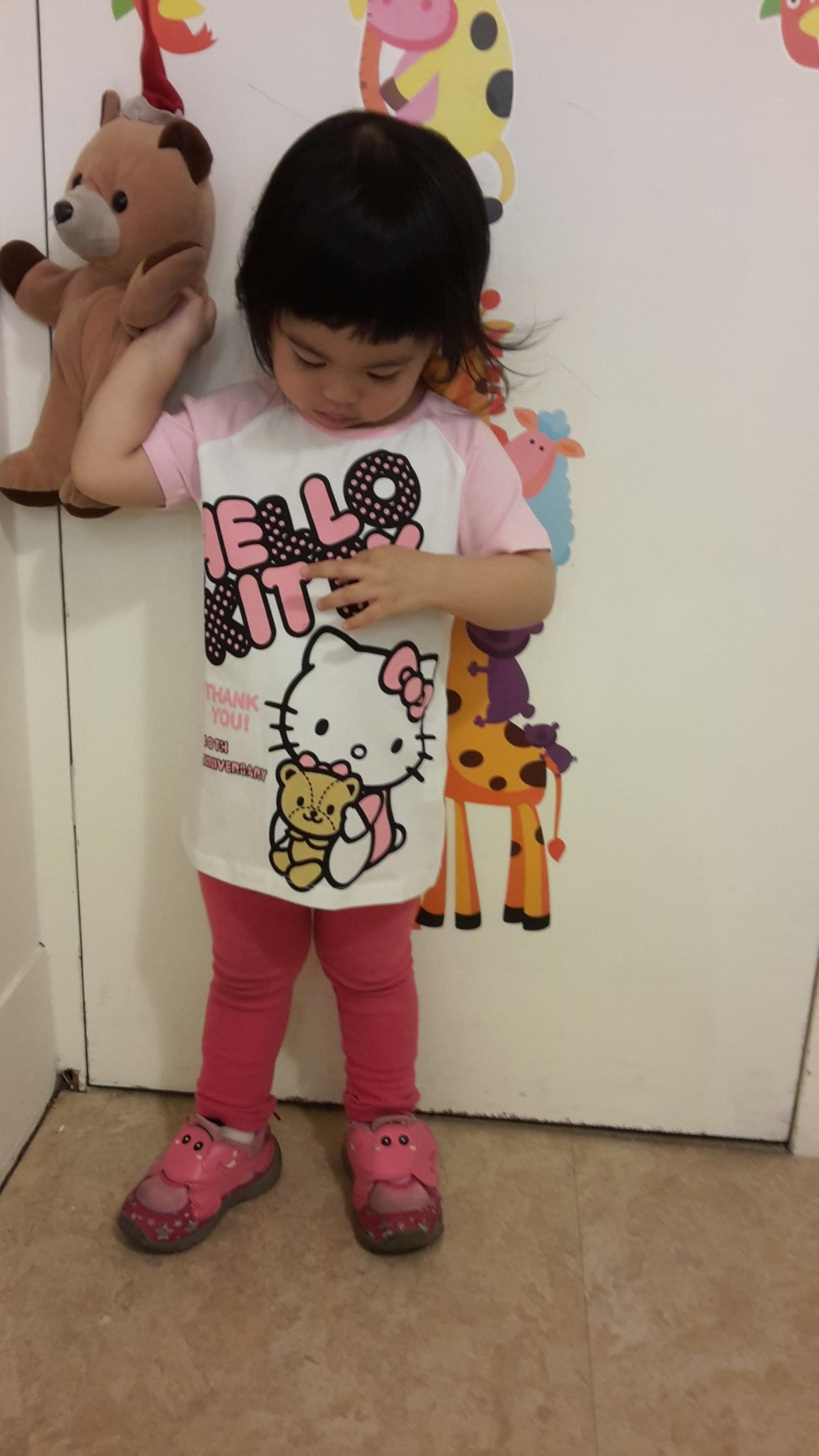 熱汽球潮流童裝~kitty女童短袖上衣