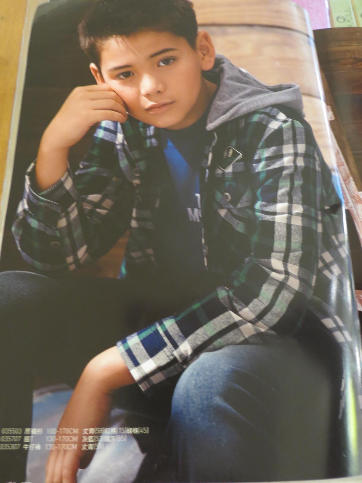 熱汽球潮流童裝~專櫃品牌馬格~(限時優惠)大男童格子款內刷毛襯衫/外套 綠色