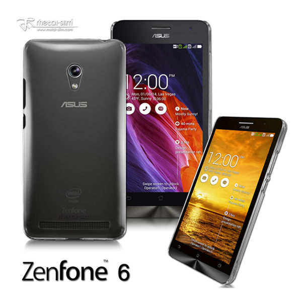 Metal-Slim Asus ZenFone 6 透明晶透保護殼 Asus ZenFone 6保護殼【馬尼行動通訊】