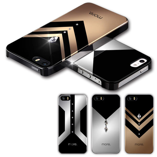 more.IPHONE5/5S Vertex Lumina水鑽系列 限定款【馬尼行動通訊】