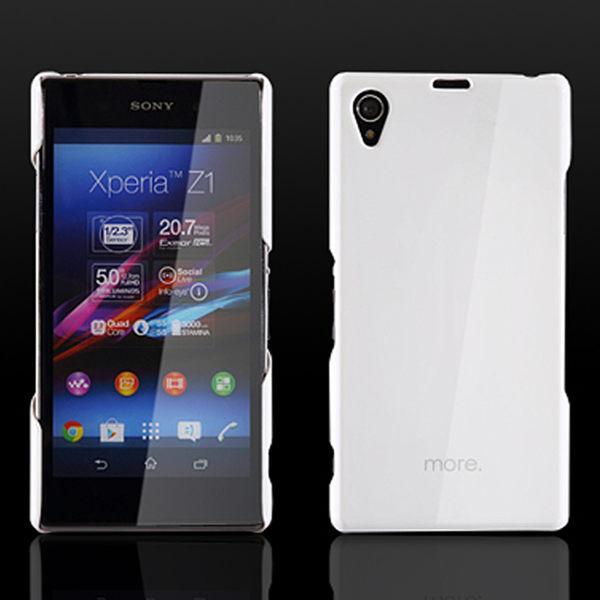 more.Granite Collection SONY Xperia Z1輕量化保護背殼 手機保護殼 背蓋【馬尼行動通訊】