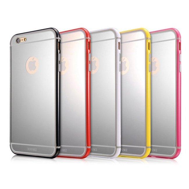 XOOMZ 自拍魔鏡TPU保護邊框/iPhone 6 4.7吋/手機殼/保護套/手機邊框/背蓋保護殼【馬尼行動通訊】