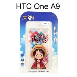 海賊王透明軟殼 [格子] 魯夫 HTC One A9 航海王保護殼【正版授權】