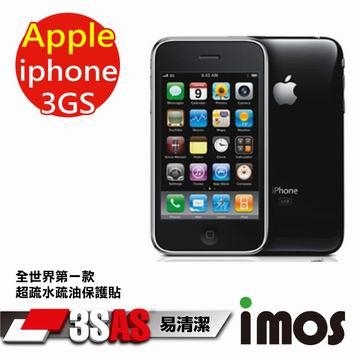 【按讚送好禮+免運】iMOS 蘋果 Apple iPhone 3GS 3SAS 螢幕保護貼