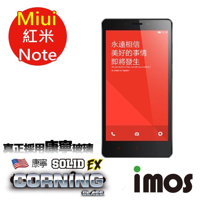 【按讚送好禮+免運】iMOS 小米 MIUI 紅米Note 9H康寧螢幕保護貼