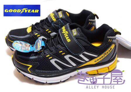 【巷子屋】GOODYEAR固特異 疾速先鋒-男童輕量運動慢跑鞋 [23014] 黃 優惠價$398