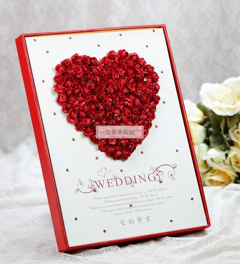 一定要幸福哦~~浪漫物語簽名本、婚禮小物、簽名筆、結婚用品