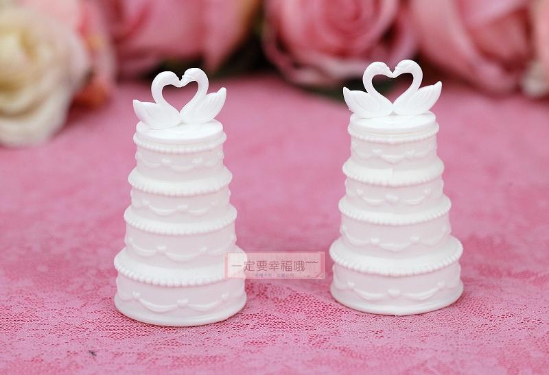 一定要幸福哦~~天鵝蛋糕造型泡泡水、派對、生日、婚禮小物、泡泡水