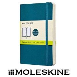 義大利 MOLESKINE 67323593 彩色素面筆記本 / 軟式 / 藍192 / P