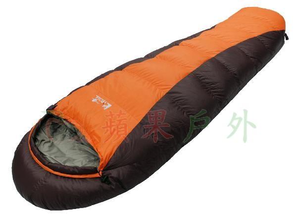 【【蘋果戶外】】吉諾佳 AS800BS『送睡袋內套』超保暖型羽絨睡袋短版 絨800g Lirosa 女版睡袋背包客打工遊學