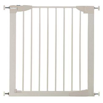 ★衛立兒生活館★英國 Lindam-加寬型自動迴旋雙向門護欄(白色)LD00147