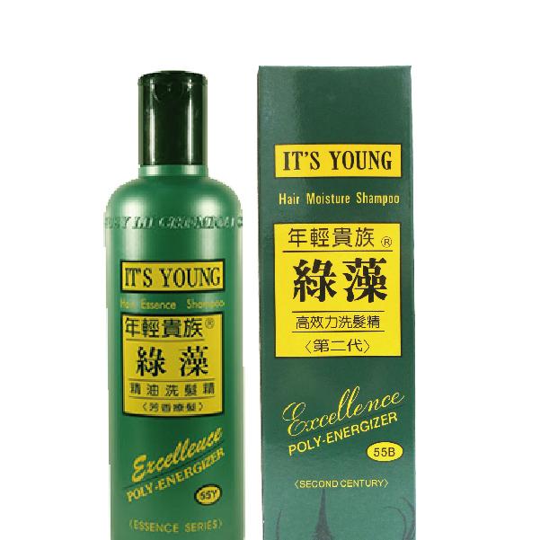 年輕貴族綠藻 第二代洗髮精加茶樹洗髮精 500cc