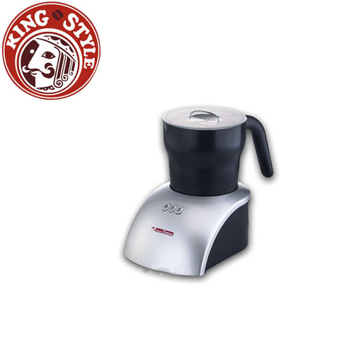 金時代書香咖啡 Tiamo 冰熱兩用電動奶泡壺(尊爵銀) 110V