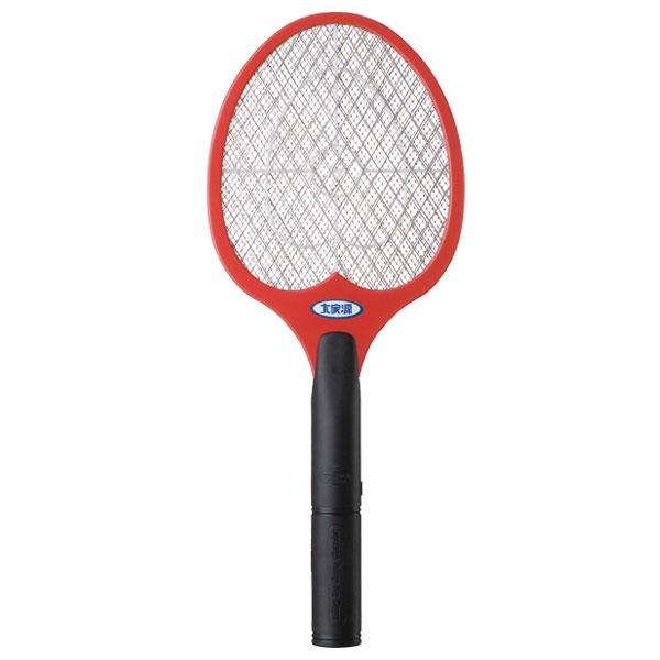 【大家源】三層強力電蚊拍。紅色/TCY-6023