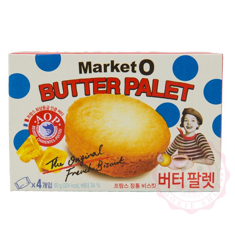 韓國 Market O 法式奶油酥餅(60g)【庫奇小舖】