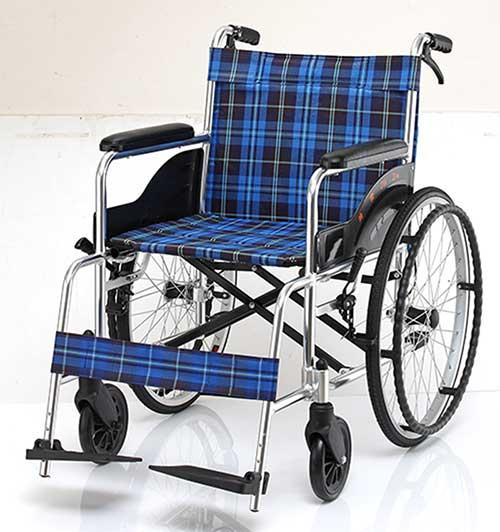 均佳 機械式輪椅(未滅菌) 鋁合金製 JW-100
