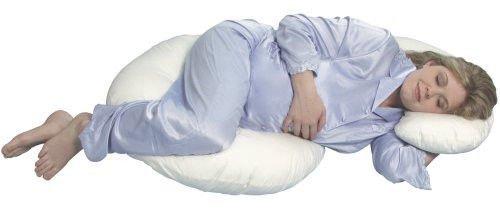 Leachco Snoogle Total Body Pillow 白色 孕婦抱枕(托腹枕)