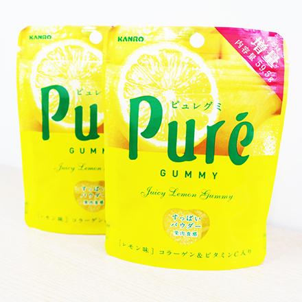 【敵富朗超巿】甘樂鮮果實軟糖-檸檬
