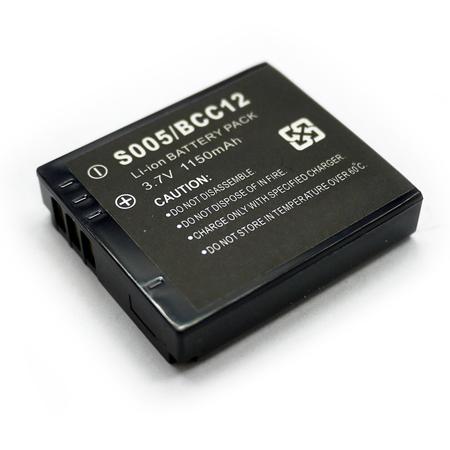 Panasonic CGA-S005 / BCC12 相機電池 S005E FX8 FX9 LX1 LX3 FX07 FX01 FX50 LX2 GT Pentax D-Li106 Optio X90..