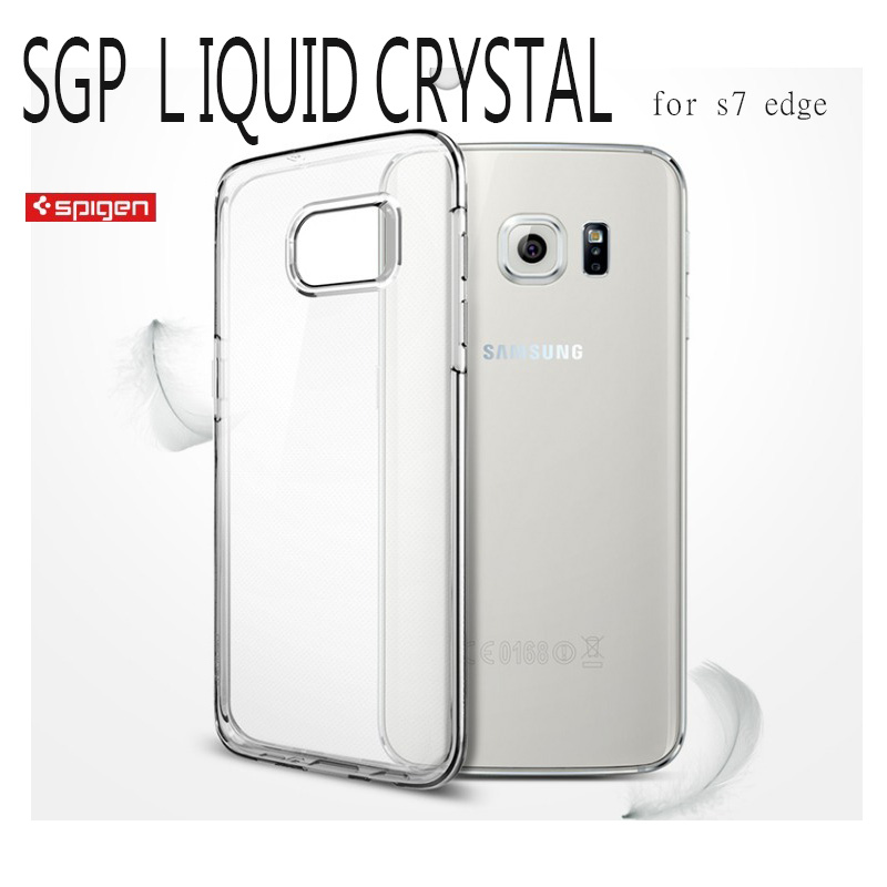 韓國原裝 Spigen SGP 三星SAMSUNG S7 /S7 Edge LIQUID Crystal 保護殼