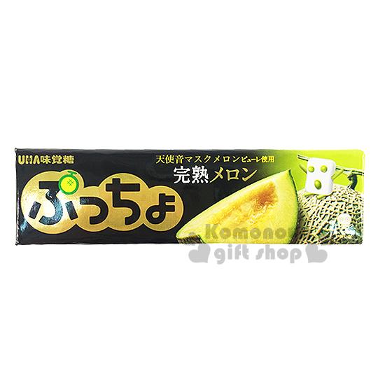 〔小禮堂〕日本原產 UHA味覺糖 噗啾哈密瓜軟條糖《50g》