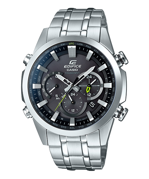 CASIO EDIFICE EQW-T630YD-1A急速太空太陽能電波腕錶/黑面44mm