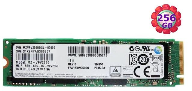 Samsung 三星 SSD 256GB【NVMe】SM951 Gen3 M.2 80mm PCIe 3.0 x4 MZVPV256HDGL 固態硬碟